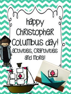 Christopher columbus  Printables and Columbus day on Pinterest Happy Christopher Columbus Day   Craftivity and activities