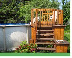Résultats de recherche d\'images pour « patio design piscine hors ...