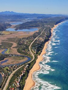 The Garden Route - South Africa.  Stage 2 of the Land Rover G4 Challenge.