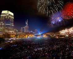 Gearing up for the Nashville Fireworks Spectacular tomorrow. We love sparkles fire downtown, so this really has it all. Nashville Holidays, Love Sparkle, Fireworks, Sparkles, Fire