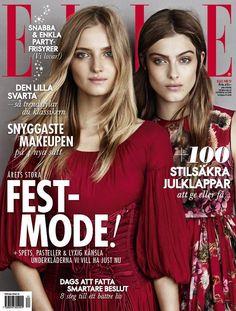 ELLE Sweden December 2014 Cover
