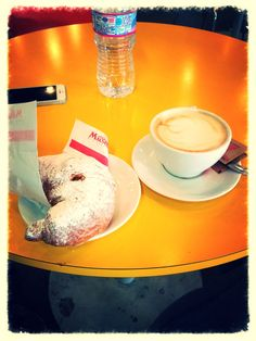 #Breakfast #cappuccino #me #italy