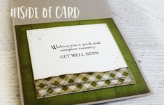 Stampin' Up! materials used