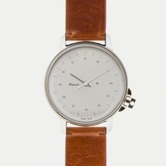 Damn nice looking watch: M12 Swiss Stainless on Leather Strap, Vintage Cognac