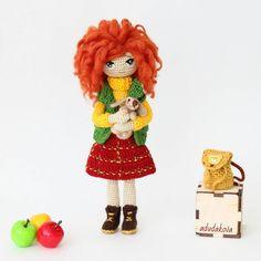 Знакомьтесь,  это Алёнка, рыжая проказница и ее любима...☆