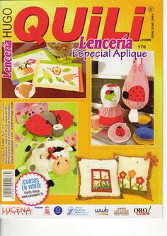 QUILI-LENCERIA N°176 - Velia Telas - Álbumes web de Picasa