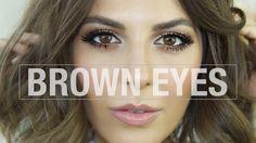 brown eye makeup tutorial Simplysona.com
