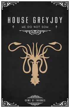 Kraken de la Casa Greyjoy