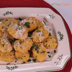 Chickpea Fritters with Hot Chili Jam by Mario Batali! #TheChew
