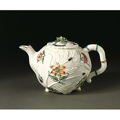 Teapot | Chelsea Porcelain factory | V Search the Collections