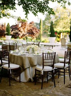 Photography by www.megsmith.com Event Planning by www.lauriearons.com  Read more - http://www.stylemepretty.com/2011/03/30/napa-valley-wedding-by-meg-smith-photography/