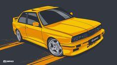Bmw E30 M3 #EDCGRPHCS by edcgraphic.deviantart.com on @DeviantArt