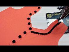 Stylish and Unique Churidar Neck Design Cutting and Stitching