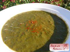 L'ortie à toutes les sauces : soupe (oseille) et risotto aux crevettes - SAVEUR PASSION