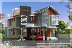 Sq feet contemporary modern home design ground floor sq ft floor sq ft  total area sq ftcontemporary house plans with photos   Affordable Modern Home in  . Modern Contemporary Homes Designs. Home Design Ideas