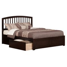 Found it at Wayfair - Monocacy Richmond Panel Bed with Storage