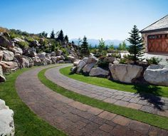 Hardscape Ideas & Hardscape Pictures for Patio Design Inspiration Landscaping Tools, Backyard Landscaping, Backyard Patio, Backyard Ideas, Garden Ideas, Front Porch Addition, Outdoor Paving, Yard Design, Porch Decorating