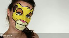 Simba by Mimicks Face Painting