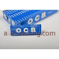 Cod produs: Foite OCB blue Disponibilitate: În Stoc Preţ: 0,80RON  Foite OCB blue.Foitele sunt albe.  Cantitate 50 foite.  Gomme arabique naturelle,cut corners.