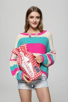 Juicy Graden-Browniies is here to bring you the new arrival of November~Ging ham checkers funny clutch >http://goo.gl/PZ82A9