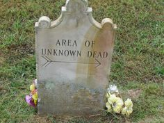 Unknown dead from the time of cholera epidemic