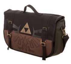 A Link To The Future Legend Of Zelda Waterproof Leather Folded Messenger Nylon Bag Travel Tote Hopping Folding School Handbags