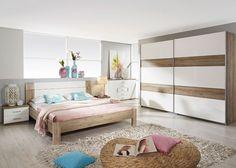 Schlafzimmer komplett Granada Weiß Sanremo 8370. Buy now at http://www.moebel-wohnbar.de/schlafzimmer-komplett-einrichtung-granada-weiss-hochglanz-sanremo-8586