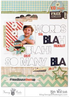 So Many Words *Fancy Pants Designs* - Scrapbook.com