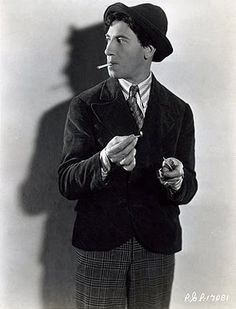 Chico Marx, one of the famous family of comics, the Marx Brothers.