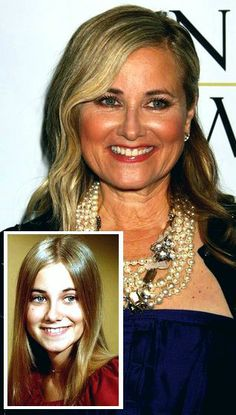 The Brady Bunch - Maureen McCormick Ann B Davis, Marsha Brady, Maureen Mccormick, Star Pictures, Star Pics, The Brady Bunch, Celebrities Then And Now, Yearbook Photos, Stars Then And Now