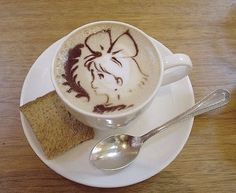 """A cup 'o' """"Alice in Wonderland"""" 