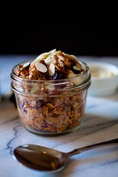 Cherry Almond Overnight Oats from @crepesofwrath