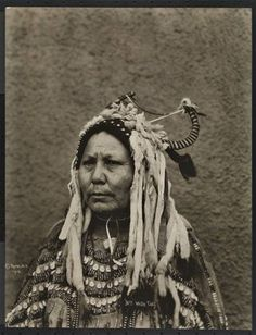 Mrs. Two Guns White Calf - Blackfeet (Pikuni) - 1913