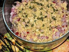 Sałatka wielkanocna z brokułem - Przepisy kulinarne - Sałatki Tortellini, Potato Salad, Food And Drink, Potatoes, Ethnic Recipes, Pineapple, Potato