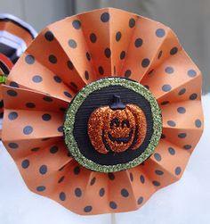 Halloween Paper Crafts | Halloween Cupcake Toppers