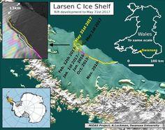 Antartide Larsen C Vicino al Distacco