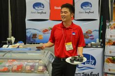 Ed having at blast at The Summer Fancy Food Show in New York City. (http://www.peteseafoodclub.com/blog/seafood-online/something-fancy/) #Edward #Chang #Summer #Fancy #Food #NYC (http://www.peteseafoodclub.com) #Pete #Sea #Shop #Delicious #Seafood #Fish #Shellfish #Petes #Online #Healthy #Health #Blog