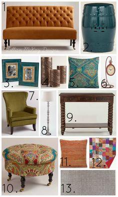 Living Room & Breakfast Nook Inspiration With #WorldMarket
