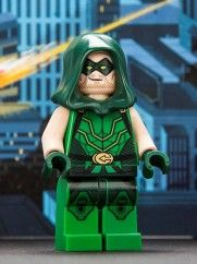 Green Arrow minifig. SDCC13 exclusive.