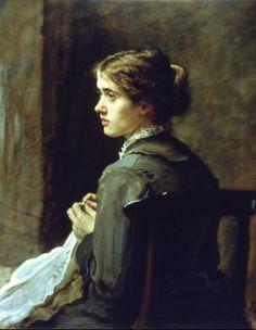 Stitch! Stitch! Stitch!, John Everett Millais - #Art #LoveArt http://wp.me/p6qjkV-4ke