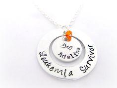 Leukemia+Awareness+Necklace++Leukemia+by+EverythingPrettyShop,+$29.00