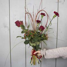 Whimsical Bouquet Cornus Valentines Flowers, Valentines Day, Color Trends, Plant Hanger, Whimsical, Floral Design, Bouquet, Design Inspiration, Wreaths