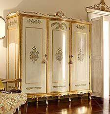 Classic Italian Handmade Night Wardrobes Furniture. Andrea Fanfani.