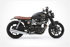 Triumph Bonneville Custom; this is close to the style I want