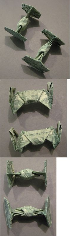 Star Wars Tie Fighter $Origami