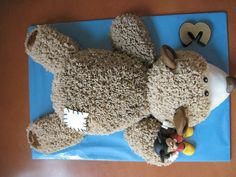 Cake bear & Mickey mouse