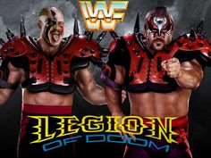 Legion of Doom wallpaper. Legion of Doom Wallpaper Wrestling Stars, Wrestling Wwe, John Terry, The Road Warriors, Wwe Wallpapers, Wrestling Superstars, Cyndi Lauper, Superhero, Guys