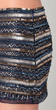 Parker Tribal Beaded Skirt