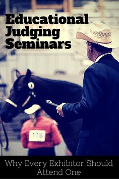 Success in the show pen could be just one AQHA educational judging seminar away, so pack your judging notepad and register for an upcoming seminar this spring.