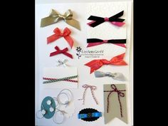 Ribbons & Bows Video Tutorial! - Flowerbug's Inkspot